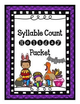 Holiday Syllable Count