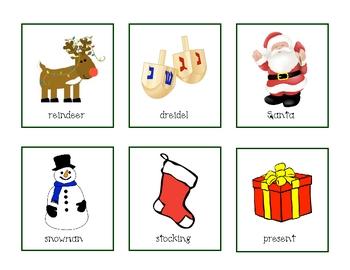 Holiday Syllable Sort