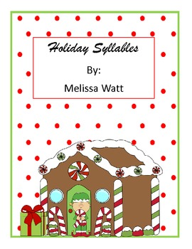 Holiday Syllables