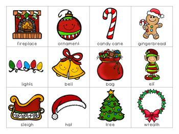 Holiday Syllables {Christmas Themed}