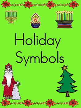 Holiday Symbols Emergent Reader