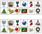 Holiday Symbols Sorting Activity