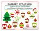 Holiday Synonyms Freebie