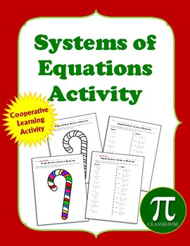 Holiday Systems of Equations Cooperative Learning