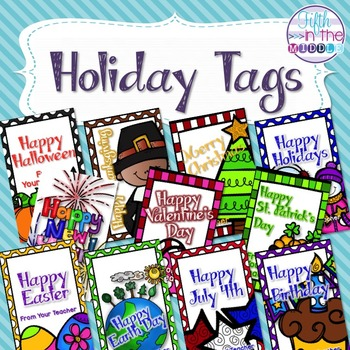 Holiday Brag Tags - Lots of Versions Available!