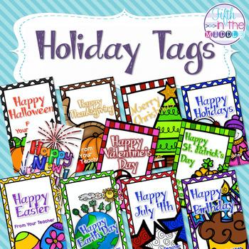 Brag Tags - Holiday