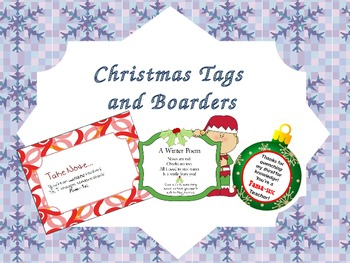 Holiday Tags and Borders