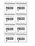 Holiday Tags for Target Building Blocks