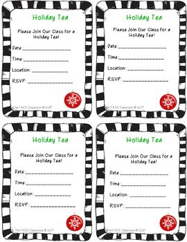 Holiday Tea Cooking Unit