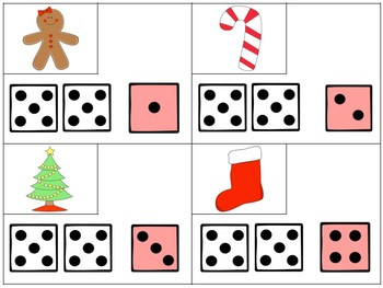 Holiday Teen Number Math Centers