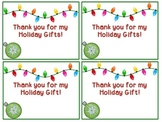 FREE Christmas Thank You Notes