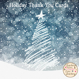 Holiday Thank You Cards - From Teacher to Student