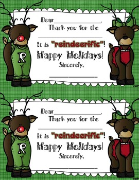 Holiday Thank You Cards...Quick and Easy
