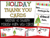 Holiday Thank You Tags