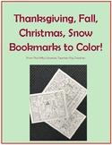 Holiday (Thanksgiving, Fall, Christmas, Winter) Printable