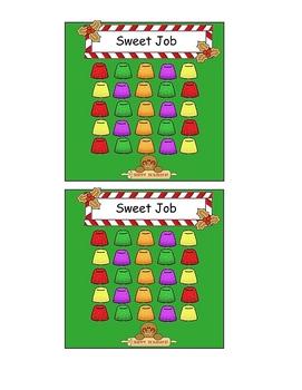 Holiday Theme Incentive Sticker Chart