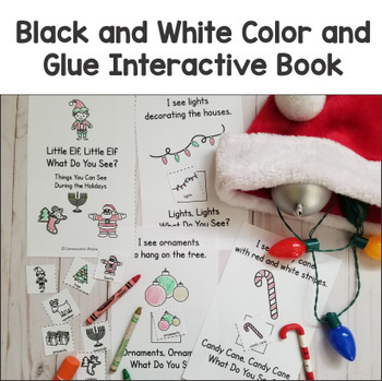 Holiday Theme - Interactive Adapted Book Pack - Dollar Deal!