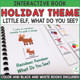 Holiday Christmas Theme - Interactive Adapted Book Pack - Dollar Deal!