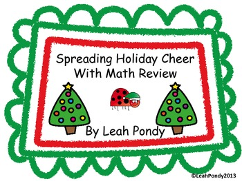 Holiday Theme Math Review