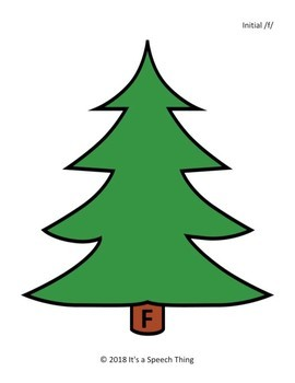 Holiday Theme Minimal Pairs: f/th, r/w, and l/y