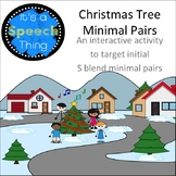 Holiday Theme Minimal Pairs: s-blends