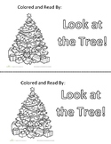 Holiday Theme Sight Word Book: AT or LOOK