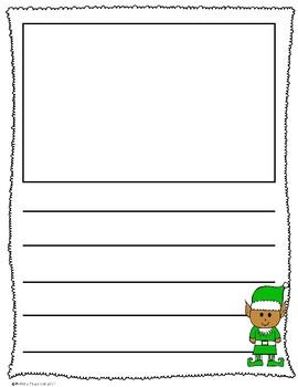 Holiday Theme Writing- Freebie!