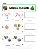 Holiday Themed Addition Practice