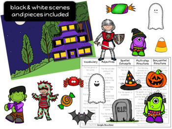 Holiday Themed Barrier Games Halloween, Thanksgiving, Christmas