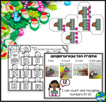 Holiday Themed Math Centers Common Core Aligned