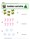 Holiday Themed Counting Practice