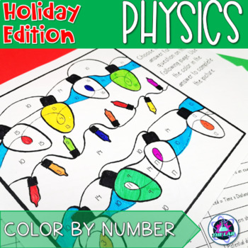 Holiday Themed General Physics Color-by-Number Activity