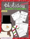 Holiday Themed Graphic Organizers in Spanish