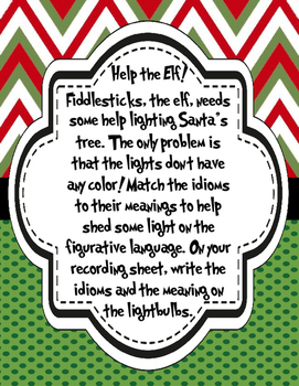 Holiday Themed Literacy Centers