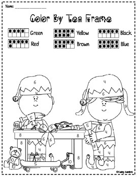 Holiday Themed Math and Literacy Bundle-13 pages!