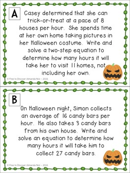 Holiday-Themed Partner Stations Bundle (7th Grade)