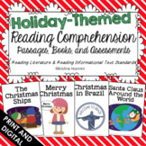 Reading Comprehension Passages and Questions - Holidays Ar