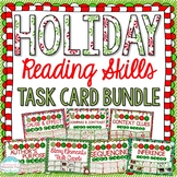 Holiday Reading Skill Task Cards MEGA Bundle { Winter and