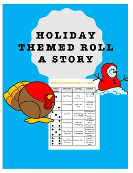 Holiday Themed Roll A Story