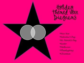 Holiday Themed Venn Diagrams