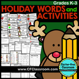Holiday-Themed Word Study Packet