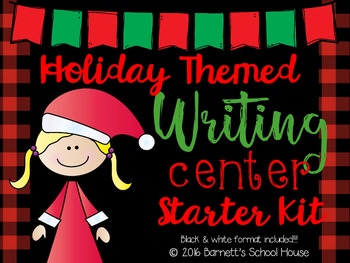 Writing Center Winter Kit {3rd, 4th & 5th Grade}