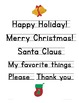 Holiday-Themed Writing Papers