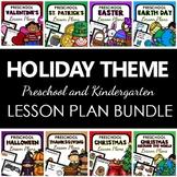 Holiday Themes Preschool Lesson Plan Bundle