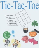 Holiday Tic-Tac-Toe Game