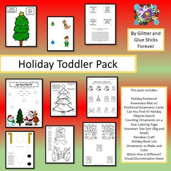 Holiday Toddler Pack
