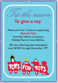Holiday Toy Drive - Toys for Tots