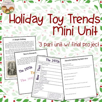 Holiday Toy Trends Mini Research Unit