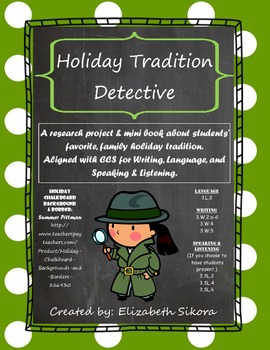 Holiday Tradition Detective