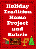 Holiday Tradition Family Project *Digital Resource*